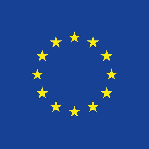 Square EU Flag