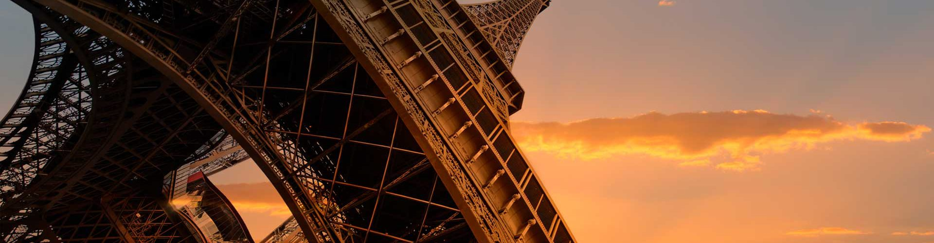 Erasmus+ Eiffel Tower Abstract Photo