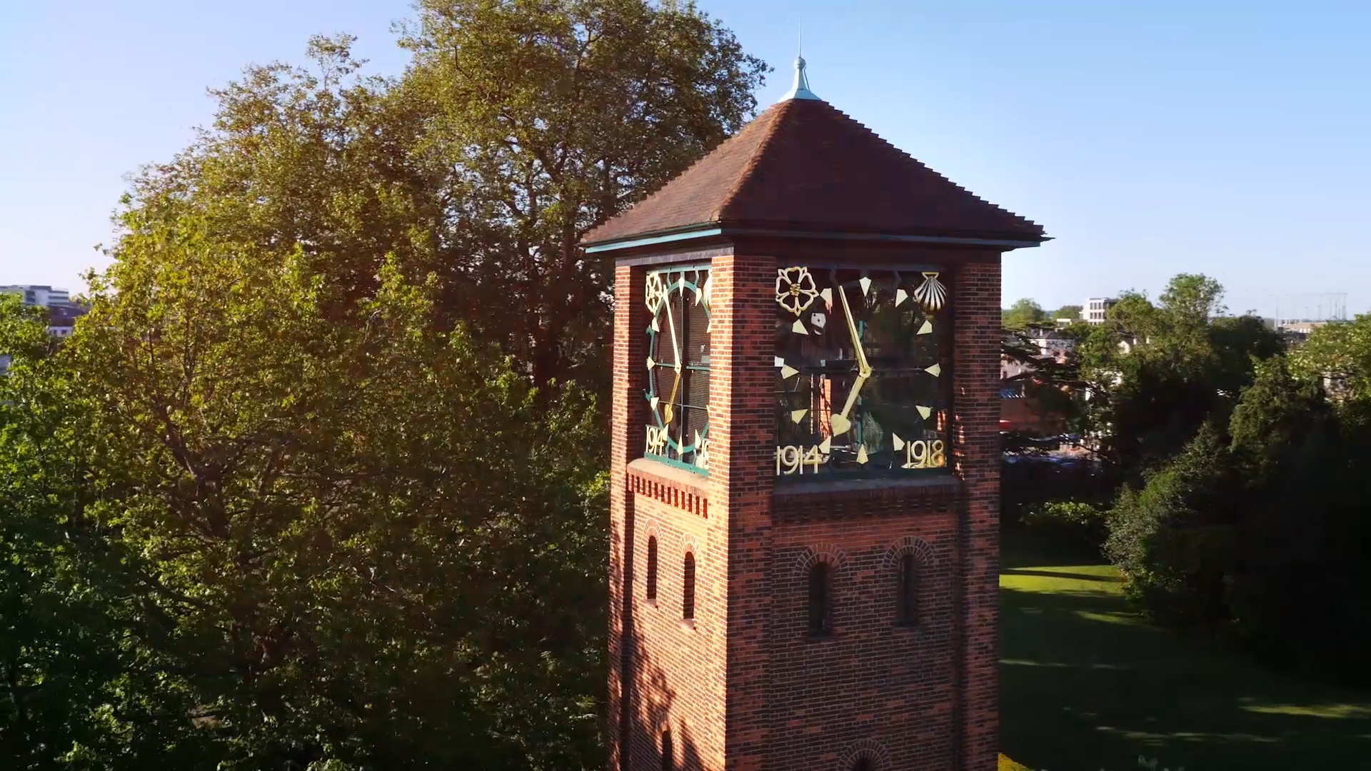 London Road Campus, Clock Tower