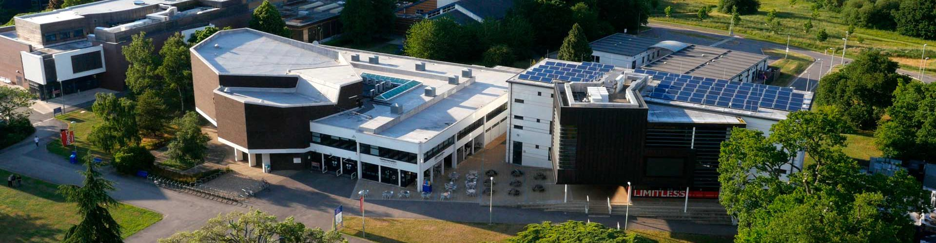 Palmer Building, Whiteknights Campus Aerial Drone Photograph